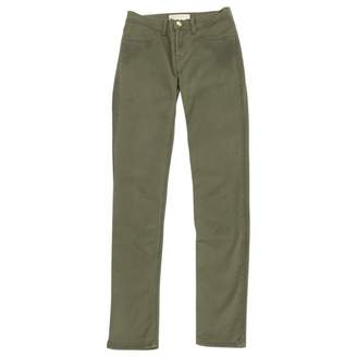 Emilio Pucci Khaki Cotton - elasthane Jeans for Women