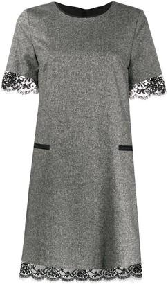 Twin-Set Lace Hem Dress