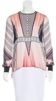 Clover Canyon Digital Print Long Sleeve Top
