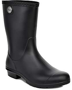 UGG Women's Sienna Matte Shearling-Lined Rain Boots