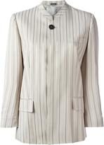 Maison Margiela striped stylised blazer