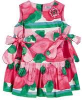 Mimisol Floral Cotton Poplin Dress