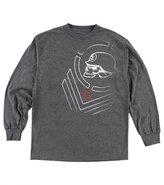 Metal Mulisha Tension Charcoal Mens Long Sleeve Shirt M45519401A with Metal Logo