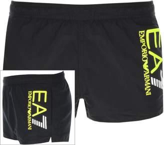 Emporio Armani Ea7 EA7 Colour Block Swim Shorts Black
