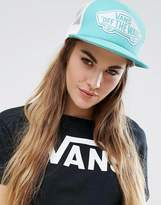 Vans Trucker Cap In Pool Blue