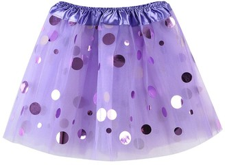 Homebaby   Girls Dress Girls' Dance Tulle Tutu Skirt UK 3-8 Years