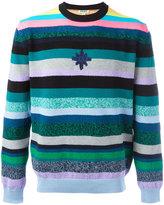 Kenzo Nasa striped jumper - men - Cotton/Acrylic/Polyamide - S