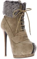 Gianmarco Lorenzi Collector lace up bootie