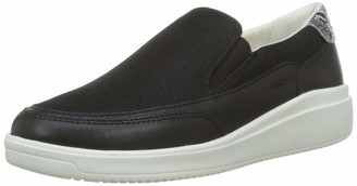 Geox Women's Tahina B Mesh and Leather Sneaker Shoe