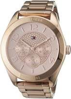 Tommy Hilfiger Women's 1781204 Rose Stainless-Steel Analog Quartz Watch