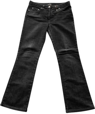 Fendi Black Cotton Jeans