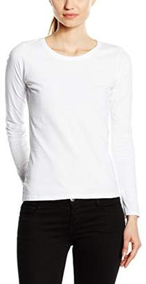 Fruit of the Loom Women's Valueweight Long Sleeve T-Shirt,14 (Manufacturer Size:)