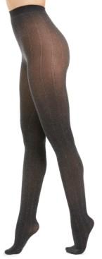INC International Concepts I.n.c. Women's Herringbone Tights With Metallic, Created For Macy's