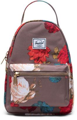 Herschel Nova Mini Brown Floral Backpack
