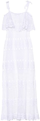 Anna Kosturova Marianne crocheted cotton dress