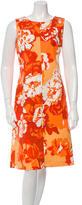 Loro Piana Printed Sleeveless Dress