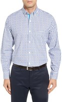 Tailorbyrd Men's Akaka Falls Classic Fit Check Sport Shirt