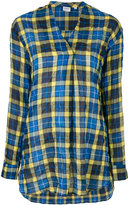 Aspesi checked shirt - women - Cotton/Polyurethane/Lyocell - 44