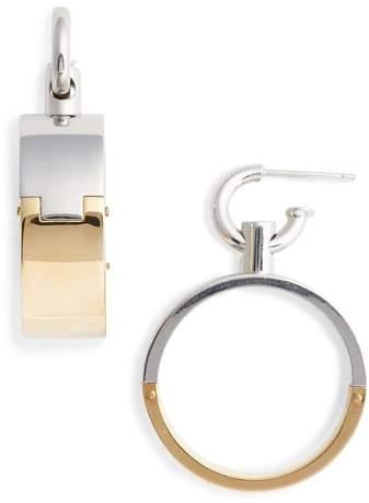 Alexander Wang Interlocking Hoop Earrings
