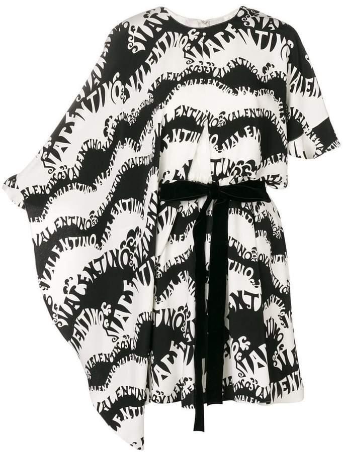 Valentino monogram print dress
