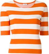 Akris Punto striped T-shirt - women - Viscose/Polyester - 36