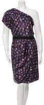 Sachin + Babi One-Shoulder Silk Dress