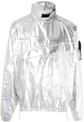 Piet metallic Anorak jacket