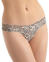 Hanky Panky Leopard Nouveau Low-Rise Thong