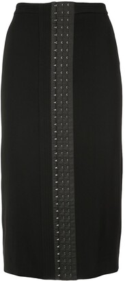 Thierry Mugler Over The Knee Skirt