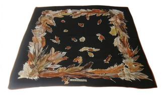 Leonard Black Silk Silk handkerchief