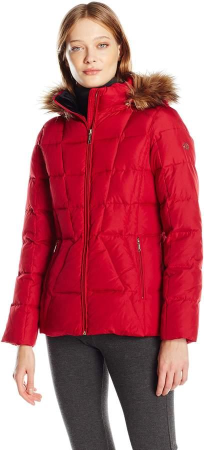 19704cc7a Calvin Klein Red Outerwear For Women - ShopStyle Canada