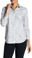 Lafayette 148 New York Brody Printed Blouse (Petite)