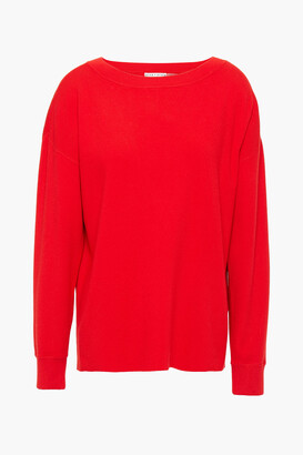 Alice + Olivia Button-detailed Knitted Sweater