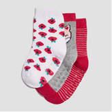 Joe Fresh Baby Girls' Floral Print Socks