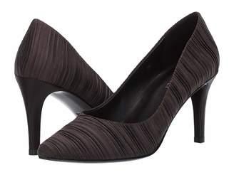VANELi Sabine (Black Pleated Satin) High Heels
