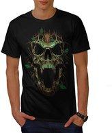 Tree Skull Gothic Biker Fantasy Men XXXL T-shirt   Wellcoda