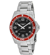 Longines HydroConquest L36894596 Men's Round Silver Stainless Steel Watch