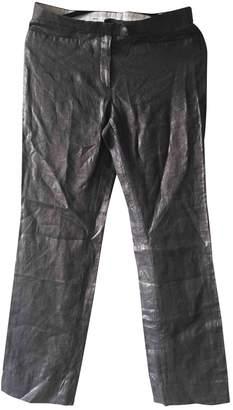 Joseph \N Silver Linen Trousers
