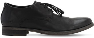 The Last Conspiracy Leather Lace-up Derby Shoes