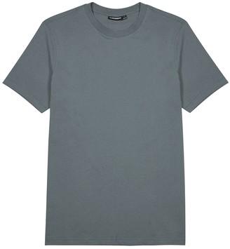J. Lindeberg Silo grey cotton T-shirt
