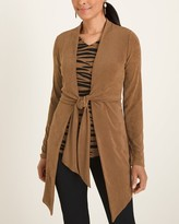 Travelers Classic Long Tie-Front Cardigan