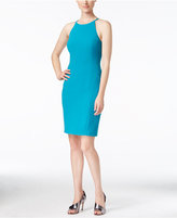 Calvin Klein Racerback Halter Sheath Dress
