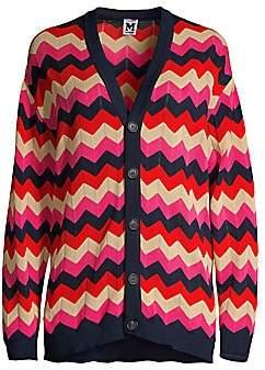 M Missoni Women's Zig-Zag Knit Cardigan
