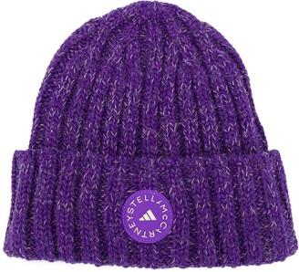 adidas by Stella McCartney Rib-Knit Beanie Hat