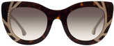 Alice + Olivia Delancey Crystal Sunglasses