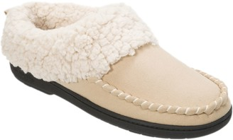 Dearfoams Microsuede Slippers