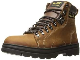 """AdTec Men's 6"""" Work Hiker Boots with Steel Toe"""