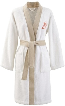 Yves Delorme Cotton Calypso Robe (Large)