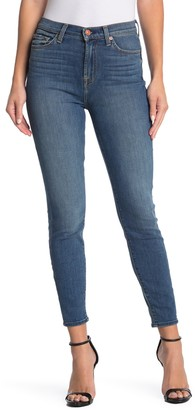 7 For All Mankind Gwenevere High Waist Ankle Crop Skinny Jeans