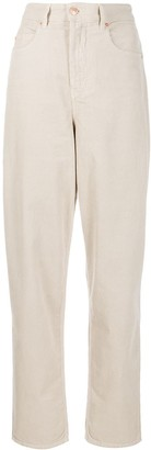 Etoile Isabel Marant oversized boyfriend fit corduroy trousers